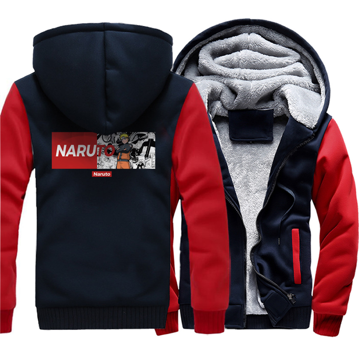 Anime Hatake Kakashi Cosplay Naruto Clothes Hatake Kakashi Plus Velvet thickening Hooded sweatshirt Coat Jackets Tops hoodies in Hoodies amp Sweatshirts from Men 39 s Clothing
