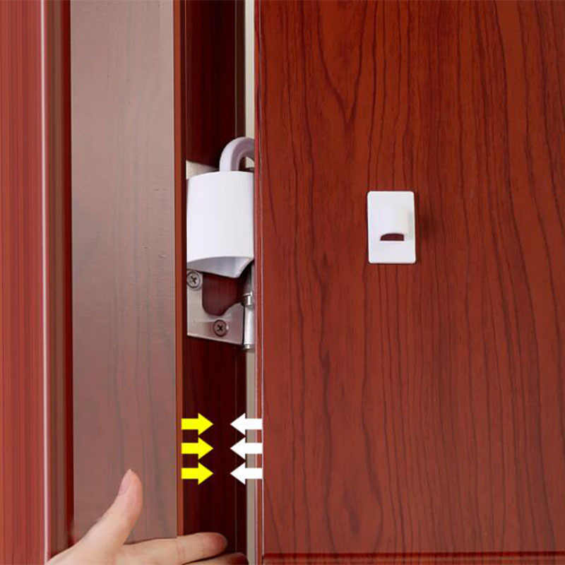 1 Uds. Baby tapón decorativo para puerta Stop seguridad chico Baby Gate productos para niños pequeños cerradura
