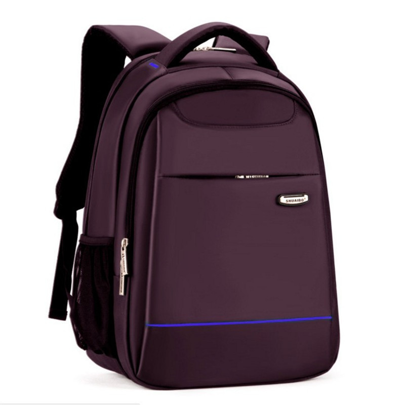 Double sac à bandoulière en nylon pour hommes sac à dos de loisirs 15.6 pouces pochette d'ordinateur étudiants livre sac collège femmes sac de voyage sac à dos - 2