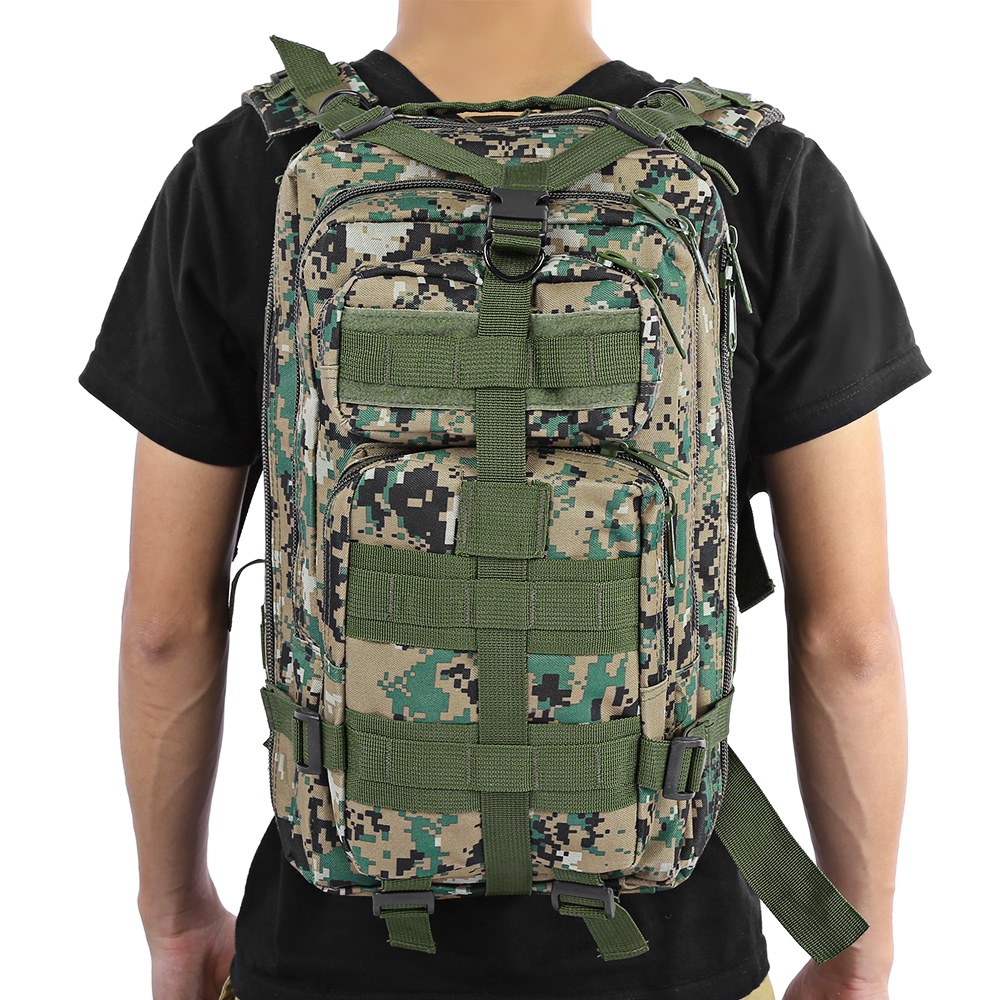 3P Tactical Backpack Military Backpack Oxford Sports
