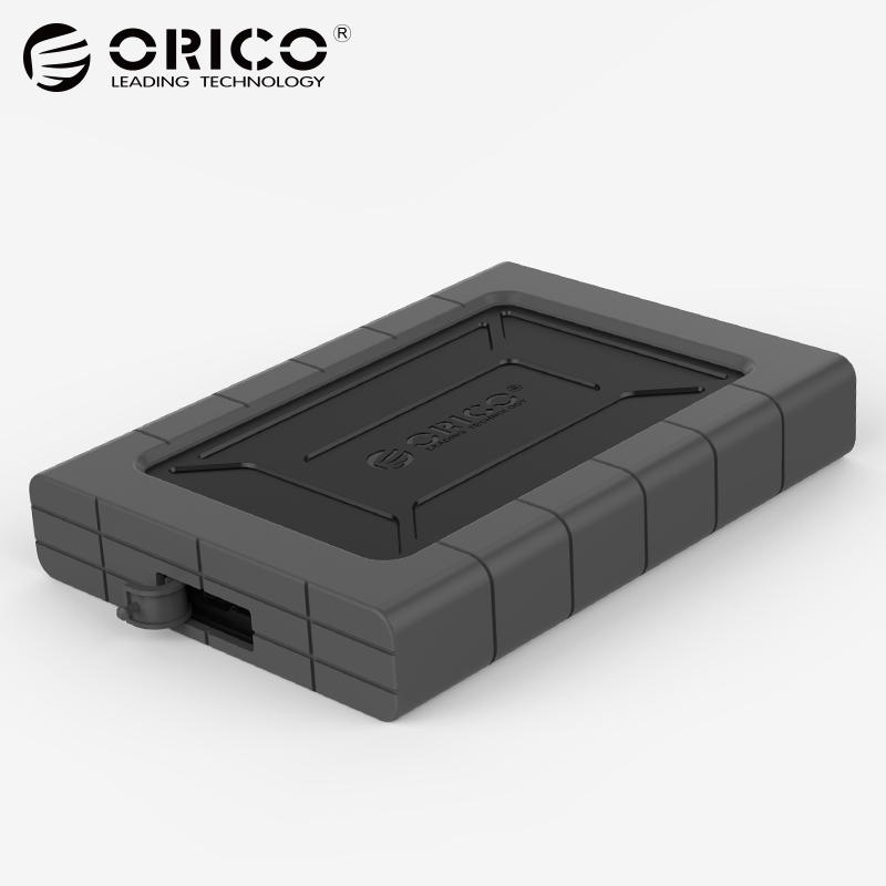 ORICO 2.5 inch Type-C USB3.1 SATA HDD/SSD Hard Drive Disk Box Enclosure External Case Support UASP 2TB for Mac/Windows/Linux