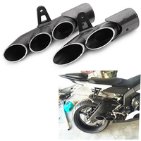 36 51mm Aluminum Alloy Universal Modified Motorcycle Exhaust Muffler Pipe 36mm 51mm for all Motorbikes 45mm for YAMAHA R6