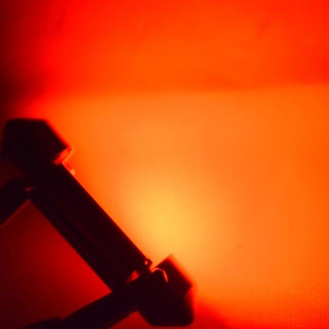 Pair 2x Red C5W C10W LED 36/39/41mm CANBUS Car Festoon Light Auto Interior Dome AC12V 24V