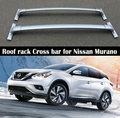 Для Nissan Murano 2015-2019 OEM стиль Багажник На Крышу рельсы бар багаж Carrier Bars top Cross Bar Rail Boxes Aluminum