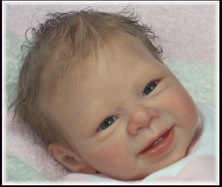 Most popular limited edition realistic reborn doll kit authentic original vinyl silicone Sweet&sassy kit 22 inches reborn baby