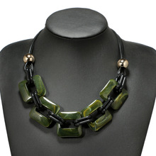 Vintage Choker Necklace Pendants Women Jewelry Statement Necklace