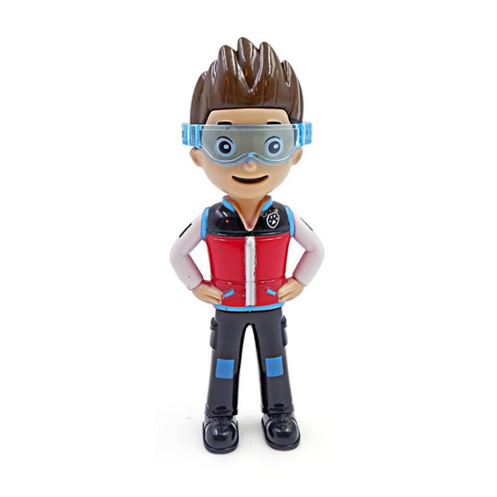 2019 New 1PC Paw Patrol Ryder PVC Action Figure Toys Model Doll Ryder Paw Patrol Toys Children Birthday Gifts Toy Model Toy