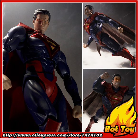 100% Original BANDAI Tamashii Nations S.H.Figuarts (SHF) Exclusive Action Figure - SUPERMAN INJUSTICE Ver. from INJUSTICE original bandai tamashii nations robot spirits exclusive action figure rick dom char s custom model ver a n i m e gundam