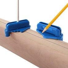 Высокая точность Rockler центр смещение инструмент для маркировки 53098 Подходит стандартный деревянные карандаши измерительный инструмент Scriber линии центр