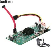 Gadinan 4CH H.265 CCTV NVR доска 5MP HI3978M безопасности NVR модуль 4CH 5MP/4CH 4MP/8CH 1080 P xmeye P2P мобильного мониторинга ONVIF