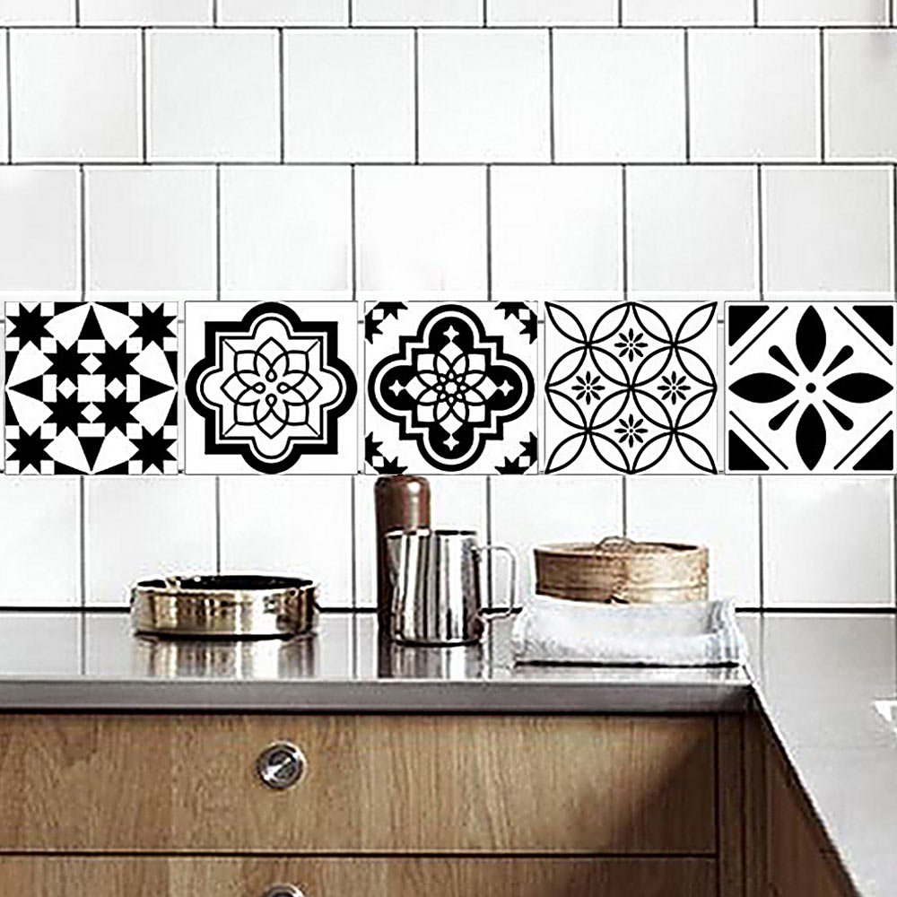 Aliexpress.com : Buy 1* Tile Sticker Home Kitchen Decor