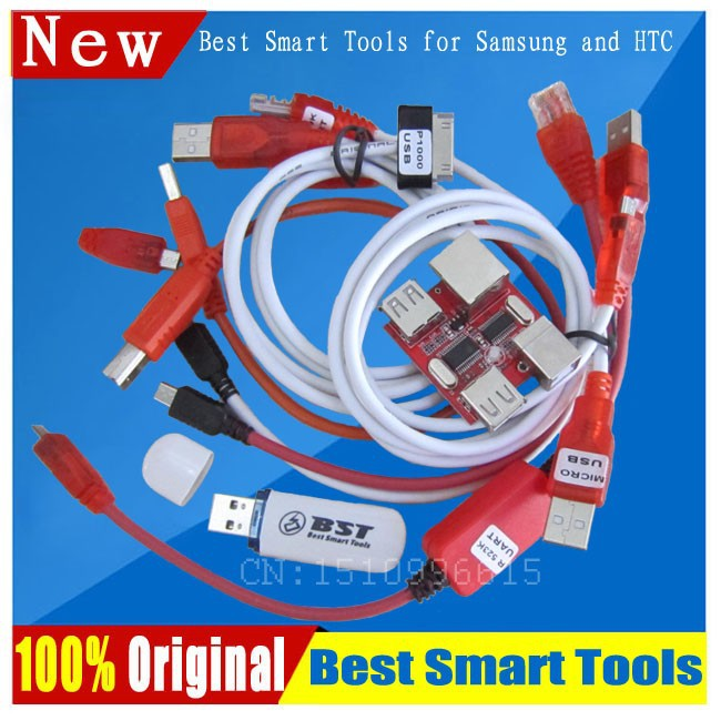 Free ship BST dongle for HTC SAMSUNG xiaomi unlock screen S6 S3 S5 9300 9500 lock repair IMEI record date Best Smart tool dongle