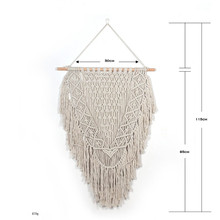Bohemian tapestry decorative woven wall hangings modern home accessories curtain macrame