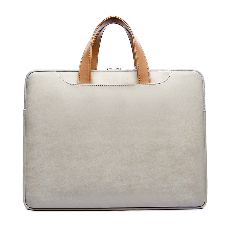 Waterproof  PU Leather Laptop bag case casual Laptop bag for women 13 13.3 14 15 15.6 inch for Macbook pro case for men 2018