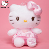HELLO KITTY gifts for children kawaii plush toy cute little princess doll stuffed toy girlfriend gift toys for girls 37cm