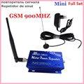 Полный Комплект ЖК-Семья GSM 2 Г 900 МГц 900 Мини Мобильный Телефон Усилитель Сигнала Повторитель для 200М2 с 10 М Кабель + Крытый и Открытый Антенна