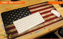 US United States America 60cm Flag lockrand Big Size Gaming Personalized Durable Mouse Pad Mat Comfort Mice Pads