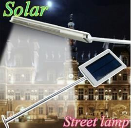Solar haven lys LED Gade lampe Høj lysstyrke 15SMD LED lampe korridor Courtyard Yard førte sollys udendørs solpanel