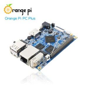 Image 2 - Orange Pi PC Plus set de 3, PC Plus, boîtier Transparent, ABS, USB vers DC 4.0MM 1.7MM, câble dalimentation
