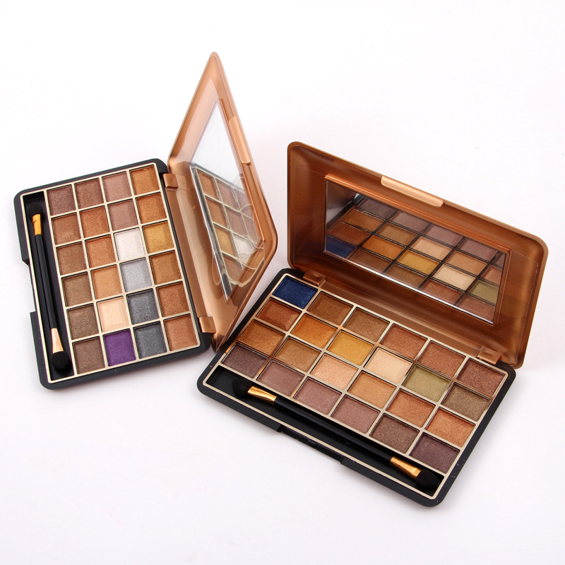 LEARNEVER Eye shadow Palette Silky Powder Pro Make up Pallet