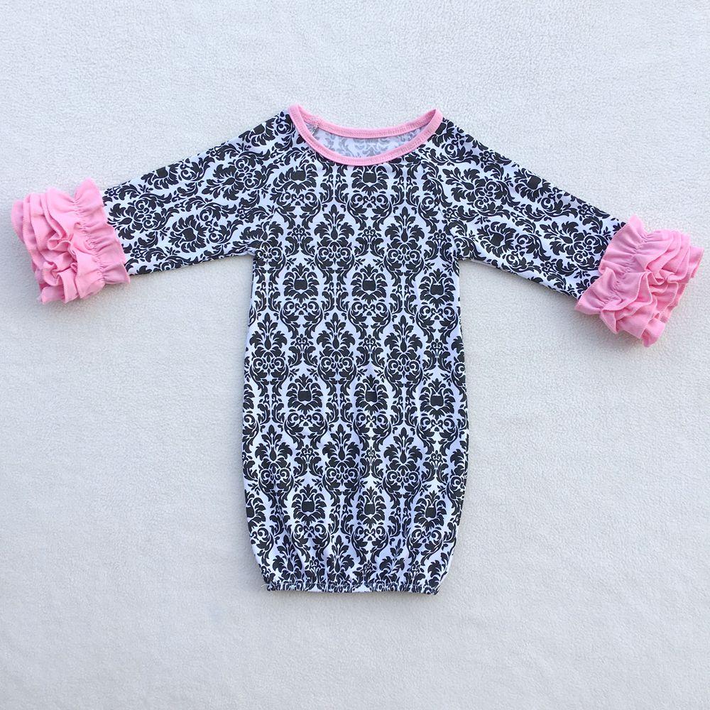 baby girl pajamas ZD-BG021(2)