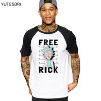 Casual Men T Shirt Rick And Morty Peace Among Worlds Brand Clothing Rick Morty Skateboard T