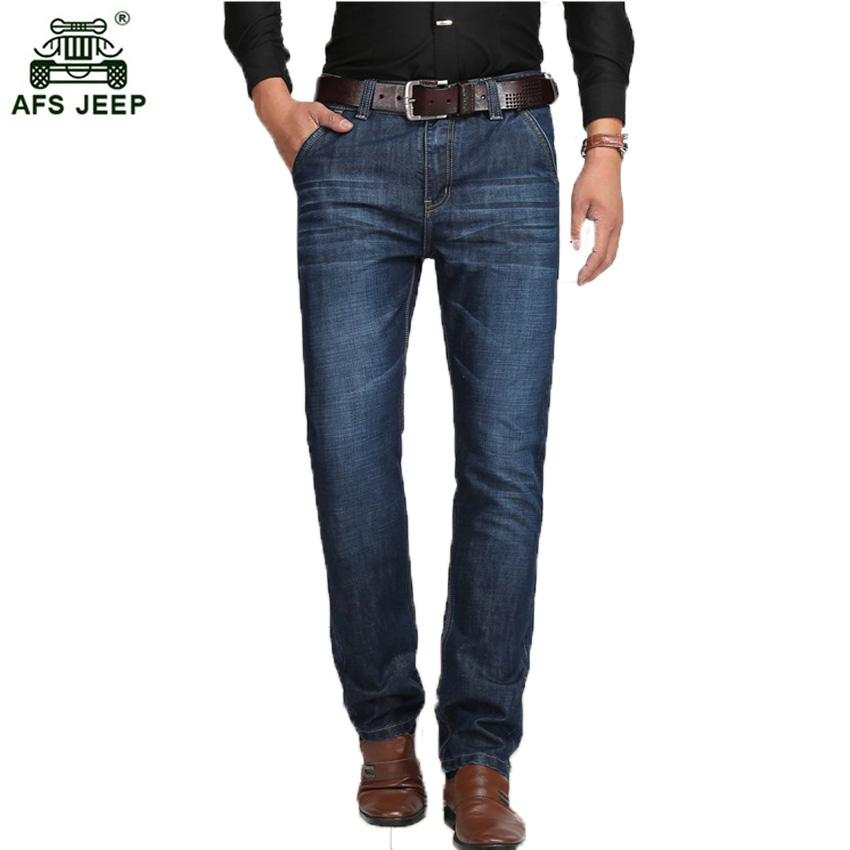 2017 New Plus size 29-42 Silm Jeans Mens Larger Size Ripped Jeans Men Famous Brand Casual Black Pantalon Jean Hombre 56wy