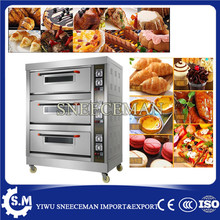 Food oven machine 3 tiers of electric baking oven
