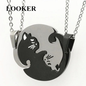 LOOKER Couples Jewelry Necklac