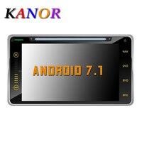 KANOR 6,95 2Din 1024*600 Android 7,1 автомобильный Планшетные ПК 2 din универсальный для Toyota RAV4 венчика Vios Hilux fortuner Прадо Terios