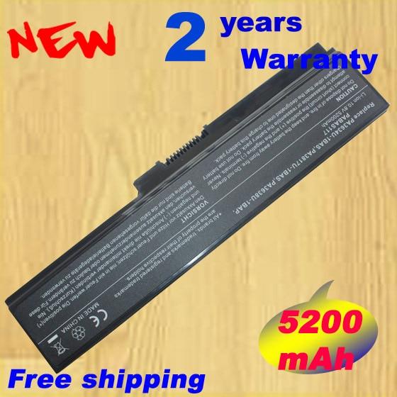 5200 mAh 6 cellules batterie d'ordinateur portable pour toshiba Satellite A665D C640 C640D C645D C650 C655 C655D C660 C660D