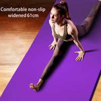 183*61*1,5 см коврики для йоги с линией тела толстые Горячие коврики для йоги Пилатес гимнастические балансовые коврики для фитнеса Нескользящи...
