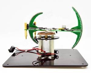 Image 2 - New DIY Spherical Rotating LED Kit  POV Soldering Training Kit