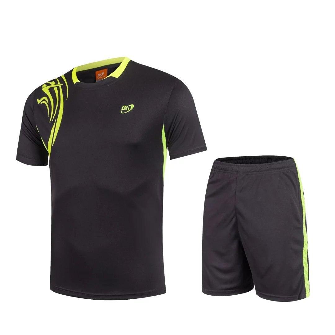 Бадминтон рубашка мужской/женский, Настольный теннис одежда футболки, Теннис Одежда сухо ...