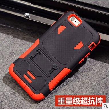 imágenes para Orignal colorido 3 en 1 combo cajas del teléfono para el iphone 5s case soporte armor case para iphone 7 7 plus case duro a prueba de golpes