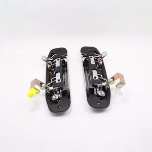 Image 3 - 1ピースタイプをクロームドアハンドル用三菱パジェロ2アクセサリーv31のv32 v33 v43 v44 v45 v46 1991 1999 1996 1998 1992