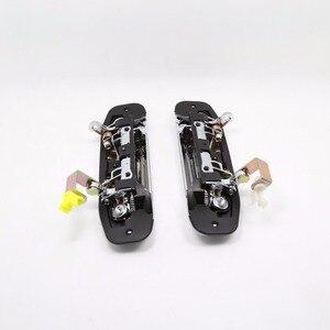 Image 3 - 1 ST TYPE Een Chrome Deurklink voor Mitsubishi Pajero 2 Accessoires V31 V32 V33 V43 V44 V45 V46 1991 1999 1996 1998 1992