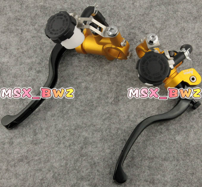 Universal Motorcycle Brake Clutch Levers Master Cylinder Kit Reservoir Motorcycle Brake Parts Gold free shipping ! william morris anemone by william morris ipod classic 6th gen 80 160gb skinit skin