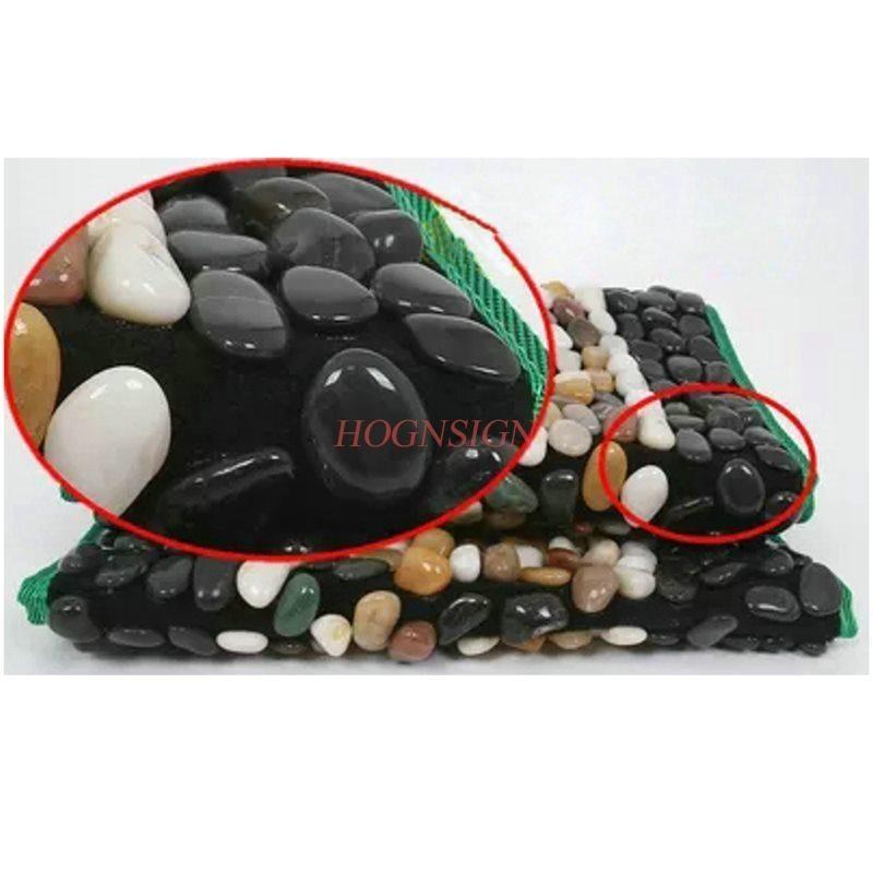 Foot Massage Tool Care Tools Natural Yuhua Stone Cobblestone Cushion Massager Pedicure Blanket Carpet Road Pressure Plate