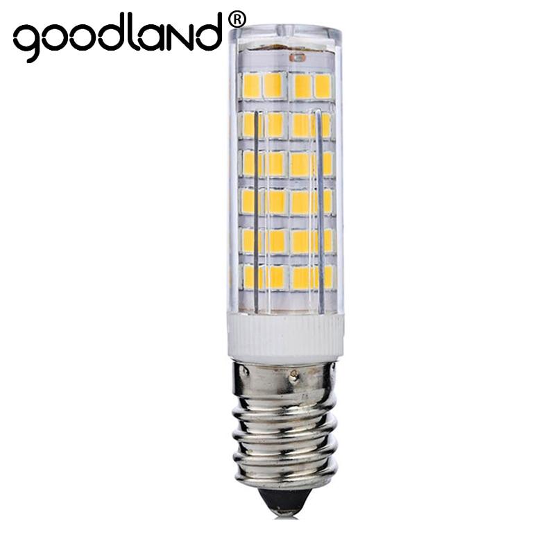 Mini LED Light E14 7W 220V LED Lamp Corn Bulb SMD2835 Chandelier LED Lamps For Pendant Refrigerator Light Replace Halogen Lamps