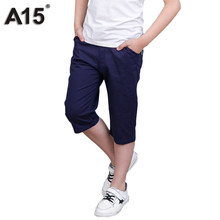 e2112b5bf09 A15 Boys Pants Summer 2018 Fashion Boys Trousers Children Casual Short  Pants Kids Clothes Brand Teens