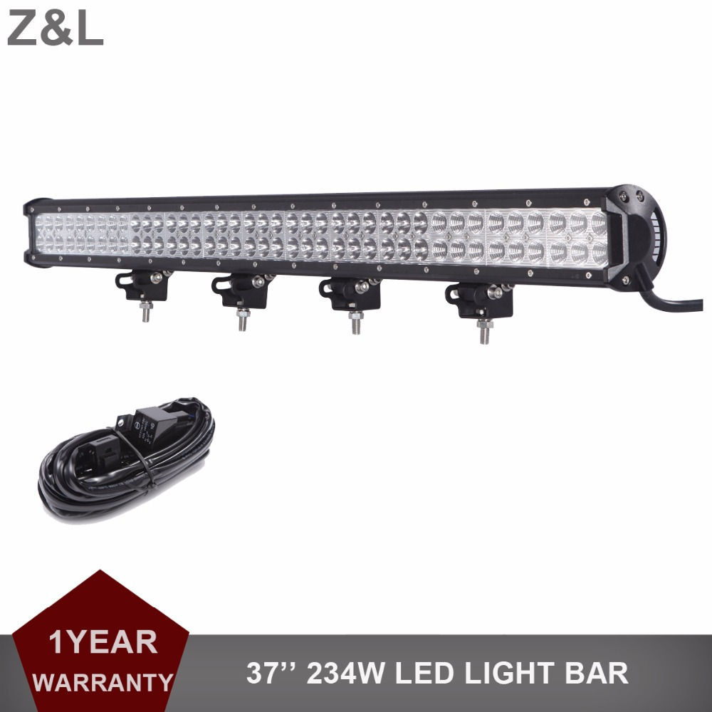 234W Offroad LED Light Bar 37INCH 12V 24V Driving SUV ATV UTE BOAT FARM VAN CAMPER WAGON PICKUP TRUCK 4WD 4X4 AUTO CAR Fog LAMP 390w 36 offroad led light bar 12v 24v combo car truck wagon atv suv pickup camper 4wd 4x4 tractor auto driving lamp headlight href page 3 href page 4