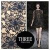 3d Three Dimensional Flower Lace Faric Organza Embroider
