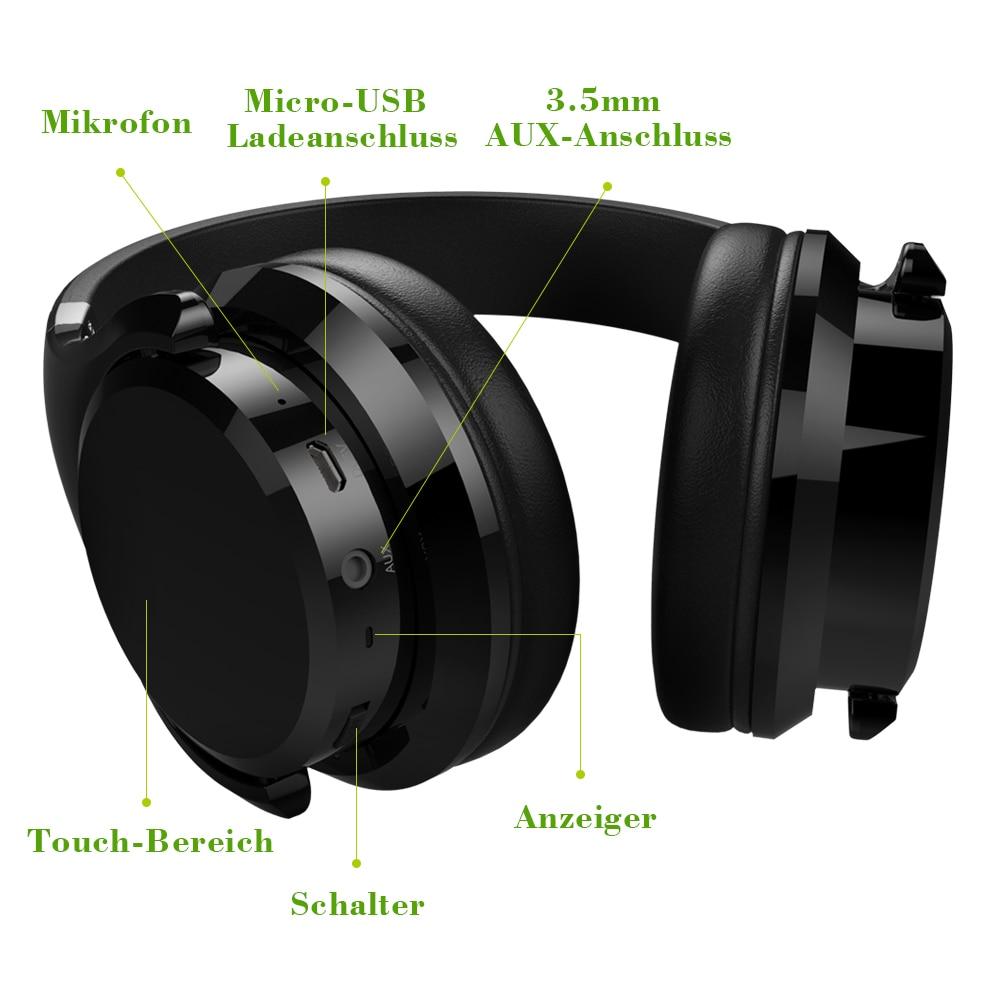 cda98deaf1b ZEALOT B21 Deep Bass Portable Touch Control Wireless Bluetooth Over ...