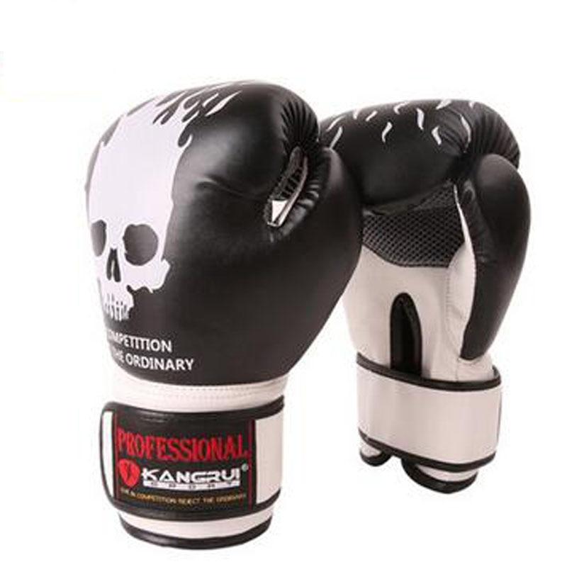 New 10 oz Muay Thai Boxing Gloves Sanda Kungfu Martial Women Men PU+NBR Free Fight Sandbag Training Mitts luvas boxeo Guantes все цены
