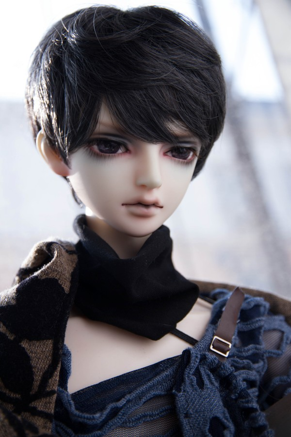 BJD Doll Hair Wigs For 1/3 1/4 1/6 BJD DD SD MSD YOSD Uncle Doll Short High-temperature Wire Hair Wigs