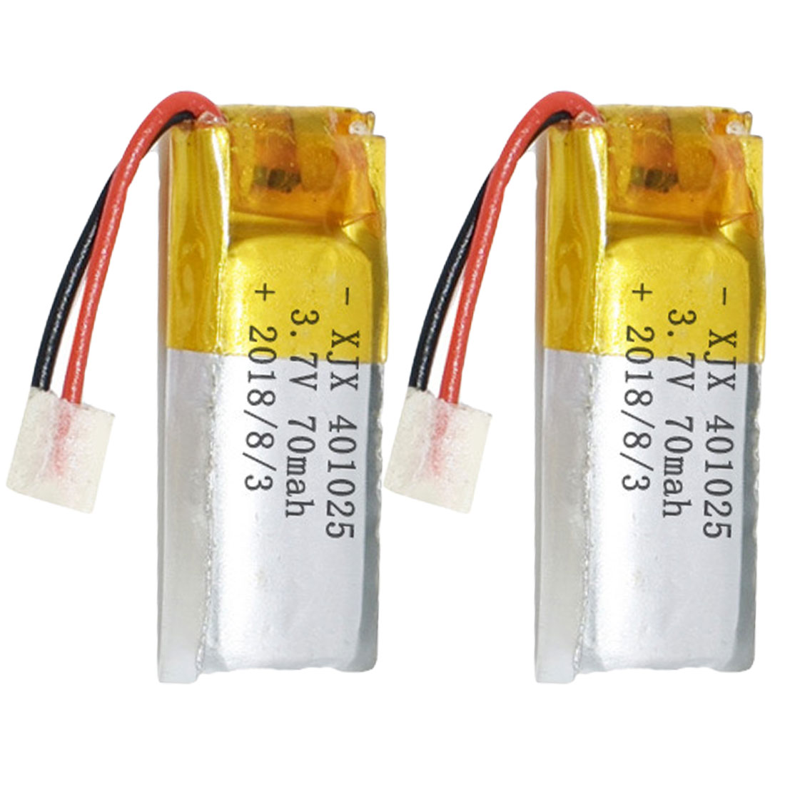 1Pcs 3.7V 70mAh 401025 PLIB Polymer Lithium Ion / Li-ion Battery For GPS MP3 MP4 MP5 DVD Bluetooth Model Toy Mobile Bluetooth