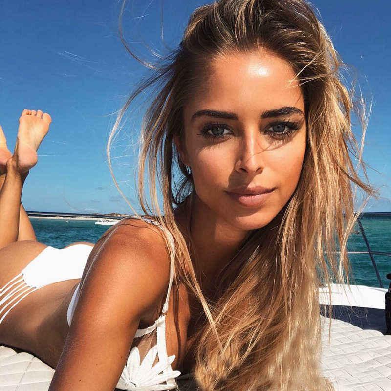 HTB1YXHqbUuF3KVjSZK9q6zVtXXau Sexy Flower Print Bikinis Women Solid Brazilian Bikini Set Swimsuit Lace-up Bathing Suit Low Waist Swim Wear Female Beachwear