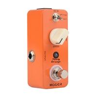 Mooer Ninety Orange Micro Analog Phaser Electric Guitar Effect Pedal Warm Deep Tone True Bypass Phasing
