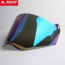 LS2 MX436 motorcycle helmet Face shield motocross off road helmet anti-scratch lens visor color clear black glasses